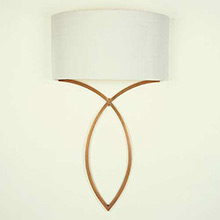 Porta Romana Brass Nicolas Wall Light
