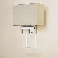 Porta Romana Perspex Wall Light