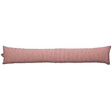 Walton & Co County Ticking Dorset Red Draught Excluder