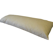 Plumeland Regal White Duck Feather Bolster Pillow