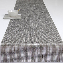 Chilewich Woven Lattice Caviar Runner