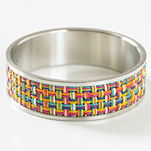 Chilewich Mini Basketweave confetti (set of 2)
