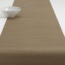 Chilewich Basketweave New Gold Runner