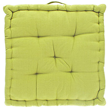 Walton & Co Plain Mattress Cushion Green
