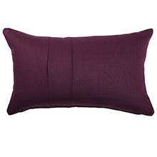 Olivier Desforges Plis Prune Cushion Cover