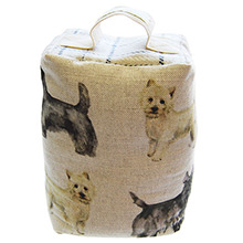 Voyage Scottie and Westie Door Stop