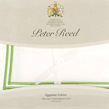Peter Reed 2 Row Satin Cord Q500 pillowcases