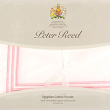 Peter Reed 3 Row Satin Cord Q1500 flat sheets