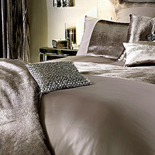 Kylie Minogue At Home Lorenta Truffle In Duvet Covers And