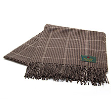 The Isle Mill Cadogan Walk Peat Throw