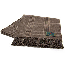 The Isle Mill Cadogan Glen Peat Throw
