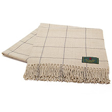 The Isle Mill Cadogan Square Sand Throw