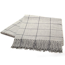 The Isle Mill Cadogan Square Steel Throw