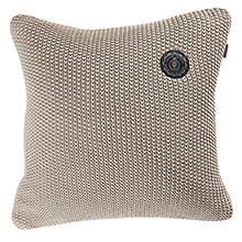 Grand Design Moss Knit Cushion Sand