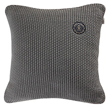 Grand Design Moss Knit Cushion Grey