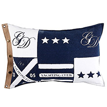 Grand Design Promotion Flag Cushion Navy