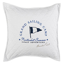 Grand Design Grand Sailing Cushion White