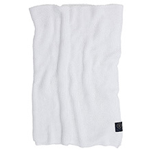 Grand Design Moss Knit throw White