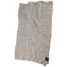 Grand Design Moss Knit throw Sand