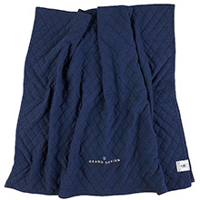 Grand Design Classic Quilt Bedspread / Throwover Navy