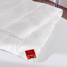 Brinkhaus European White Down All Seasons Duvet, 8+4.5 = 12.5 Tog