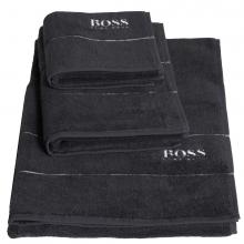 Hugo Boss Plain Graphite Towels