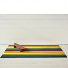 Chilewich Large Stripe Multi Shag Rug