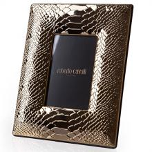 Roberto Cavalli Python Gold Plated Picture Frame
