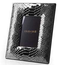 Roberto Cavalli Python Silver Plated Picture Frame