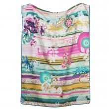 Desigual Paisley Bloom Bedspread / Throw