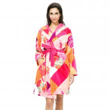 Desigual Romantic Patch Bathrobe
