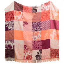 Desigual Romantic Patch Blanket Throw