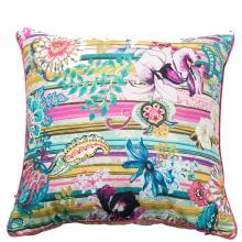 Desigual Paisley Stripes Cushion