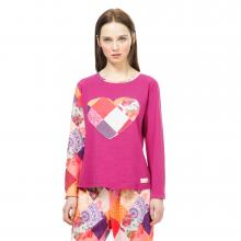 Desigual Romantic Patch Nightshirt