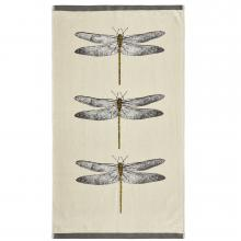 Harlequin Demoiselle Natural / Orange Towel