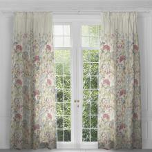 Voyage Hedgerow Linen Eyelet Curtain Panels (pair)