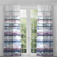 Voyage Jadu Quartz Eyelet Curtain Panels (pair)