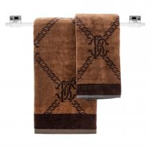 Roberto Cavalli Spider Marrone Towels