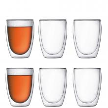 Bodum Pavina Double Wall Medium 6 Piece Set