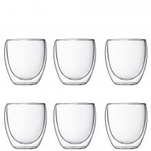 Bodum Pavina Double Wall Small 6 Piece Set