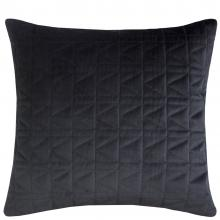 Karl Lagerfeld Quilted K Black Cushion