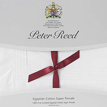 Peter Reed 5 Row Cord Q2000 flat sheets