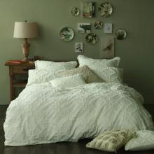 MM Linen Clover Ivory Duvet Cover Set