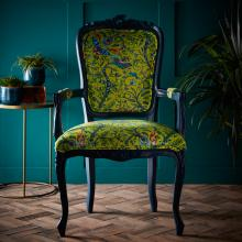 Emma Jane Shipley for Clarke & Clarke Rousseau Lime Antoinette Chair