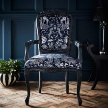 Emma Jane Shipley for Clarke & Clarke Kruger Navy Antoinette Chair