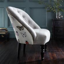 Clarke & Clarke Papilio Heather Soho Chair