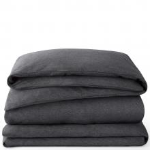 Calvin Klein CK Body Charcoal Flat Sheet