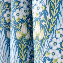 V & A Alyssum Lined Curtains