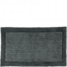 Cawo Two Tone Luxury Bath Mat Coal 77