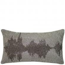 Kylie Minogue At Home Soundwave Silver Cushion